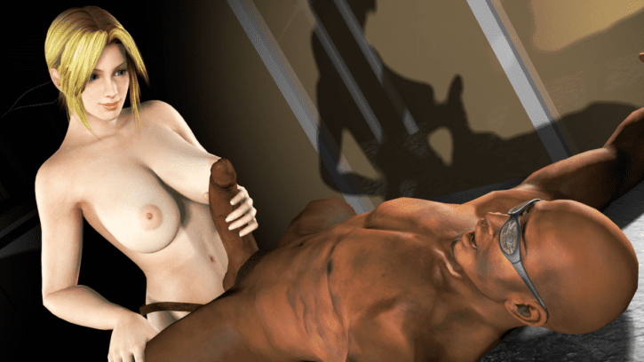 Footrest for Helena Douglas ~ Dead or Alive Femdom by AlmightyBeastOverlord