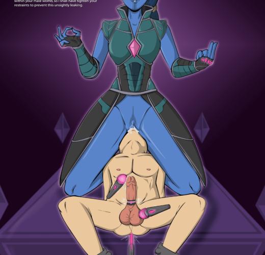 Hala the Accuser Facesitting ~ Marvel Comics Femdom by Neocorona