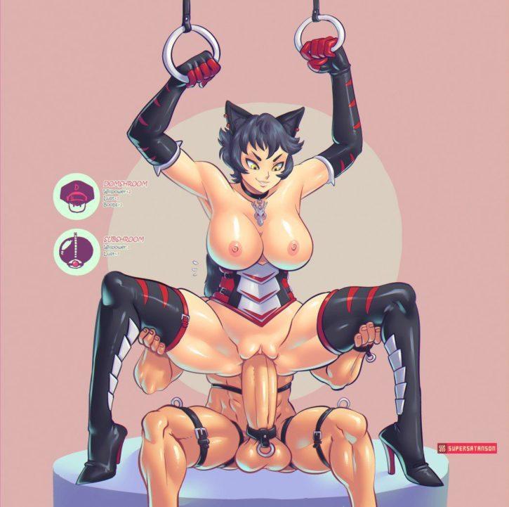 Kali Belladonnae's Pleasure Slave ~ RWBY ~ By SuperSatanSon