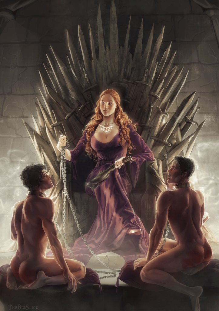 Queen Sansa ~ Game of Thrones Femdom by TheBigSlick