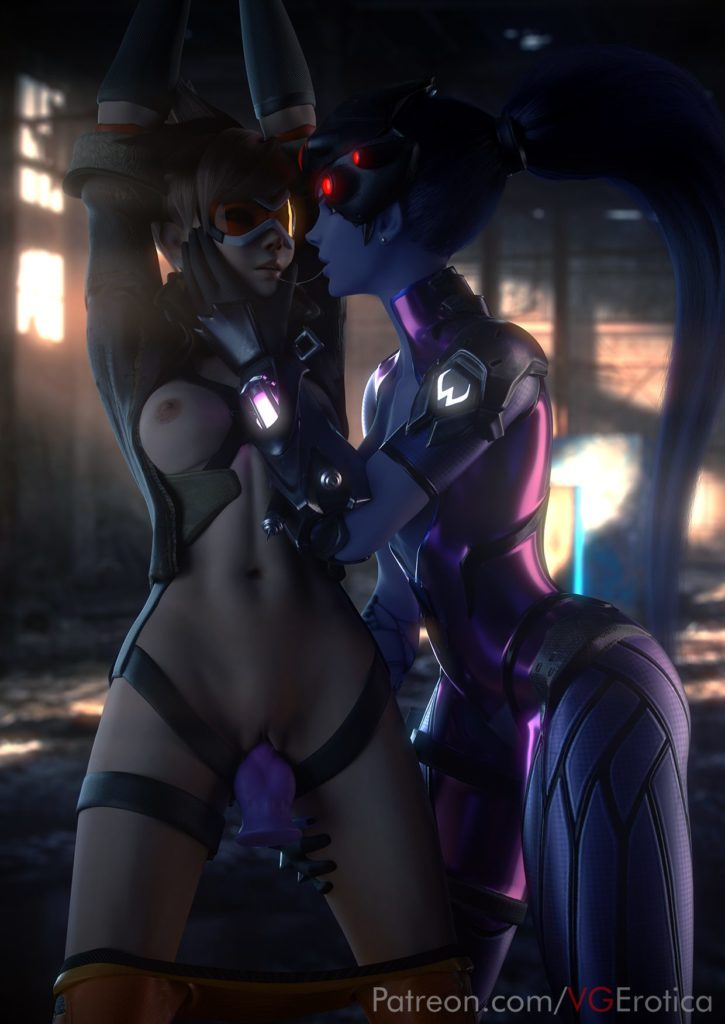 Widowmaker x Tracer Lezdom ~ Overwatch Porn by VGErotica