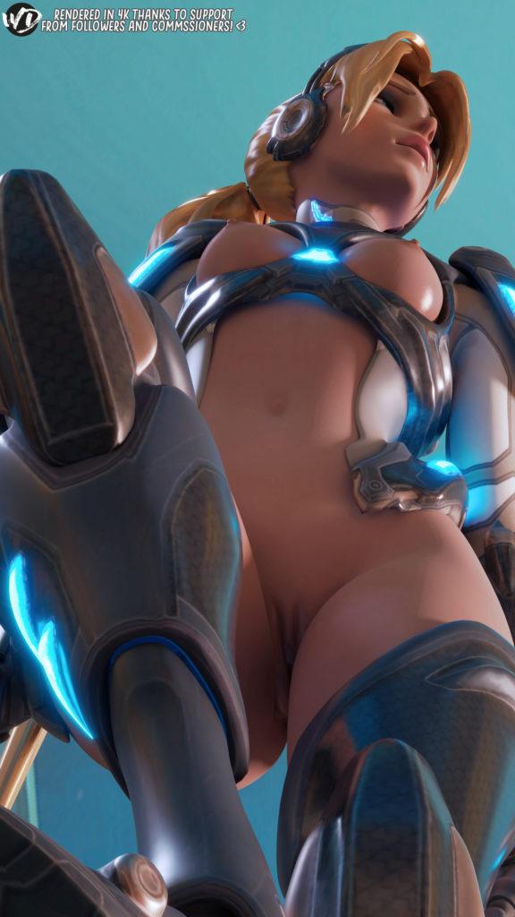 Nova Widowmaker Stepping on You ~ Overwatch ~ By Wunderdash