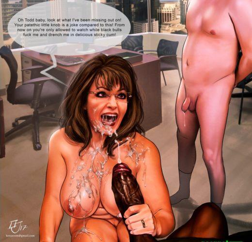 Sarah Palin Cuckolding ~ Celebrity ~ By KinkyJimmy