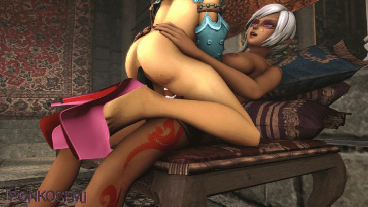 Cia Feminizes Link ~ Legend of Zelda ~ By PonkoSFM