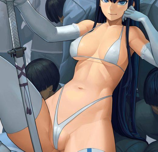 Kiryuuin Satsuki's Human Throne ~ Kill la Kill ~ By Lasterk