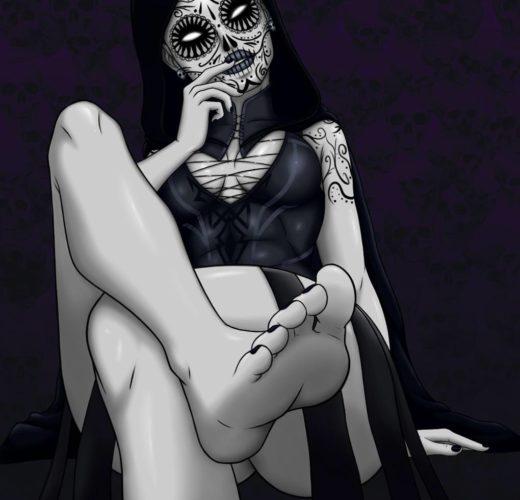 Mistress Death Foot Worship