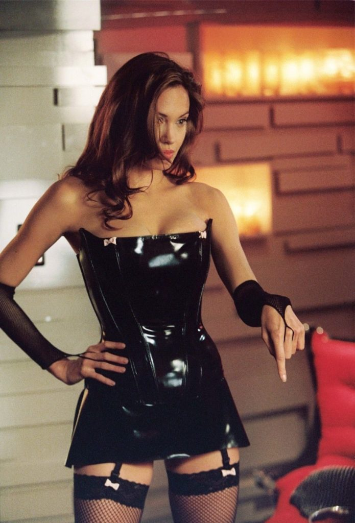 Angelina Jolie as a Dominatrix ~ Celebrity Gallery
