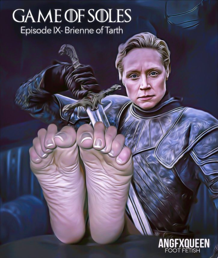 Brienne of Tarth Foot Worship ~ Game of Thrones ~ By ANGFXQUEEN