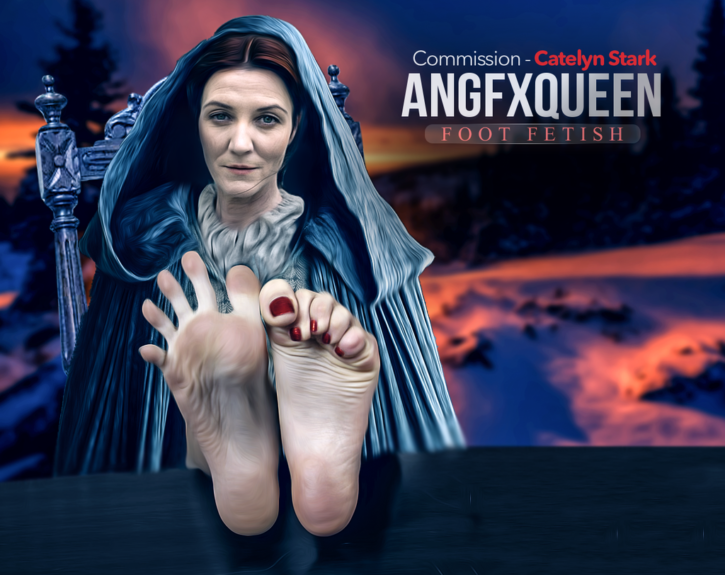 Catelyn Stark / Lady Stoneheart Foot Worship ~ Game of Thrones ~ By ANGFXQUEEN