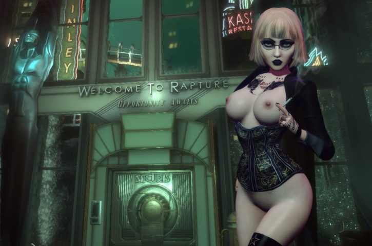 Dominatrix Elizabeth ~ Bioshock Infinite ~ By Rastifan