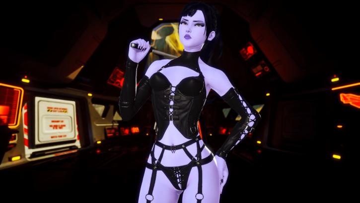 Dominatrix Widowmaker ~ Overwatch ~ By DeMolljok