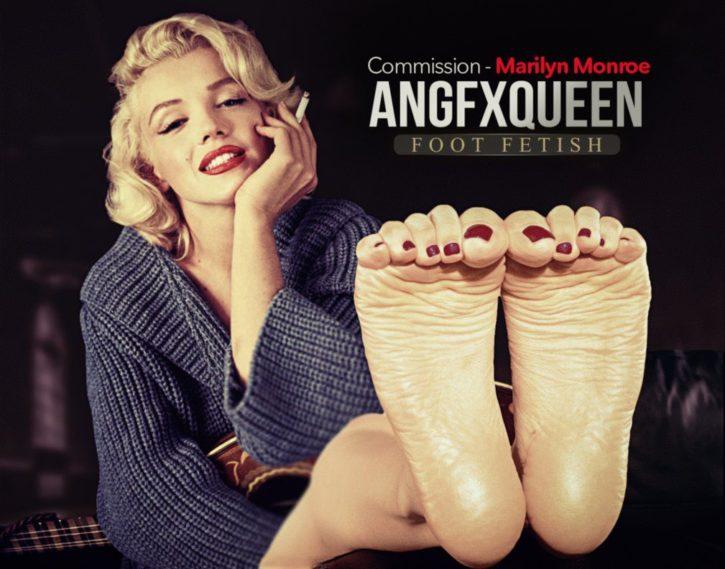 Marilyn Monroe Foot Worship ~ Celebrities ~ By ANGFXQUEEN