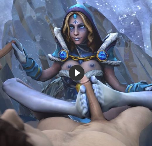 Crystal Maiden's Captured Victims ~ DotA 2 ~ By HowlSFM [Video]
