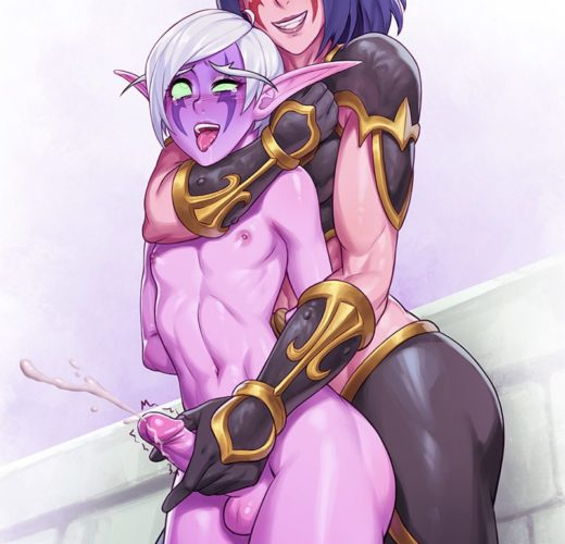 Night Elf Sissy Domination ~ World of Warcraft ~ By SefuArt