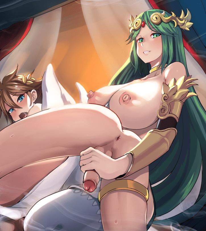 Palutena Fingering Pit ~ Icarus ~ By Onigensou