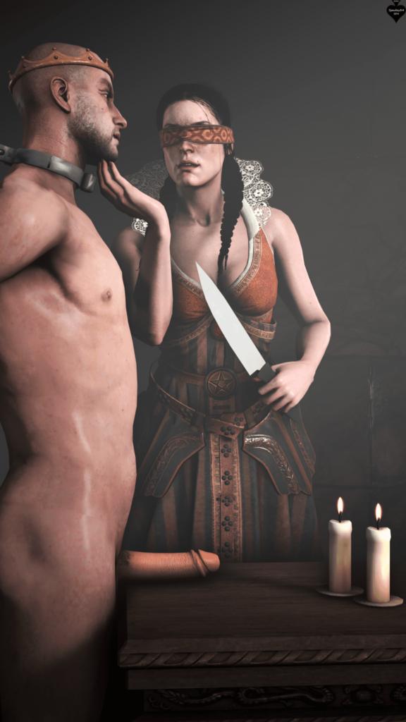 Philippa Eilhart Castration ~ The Witcher 3 ~ Spades34SFM
