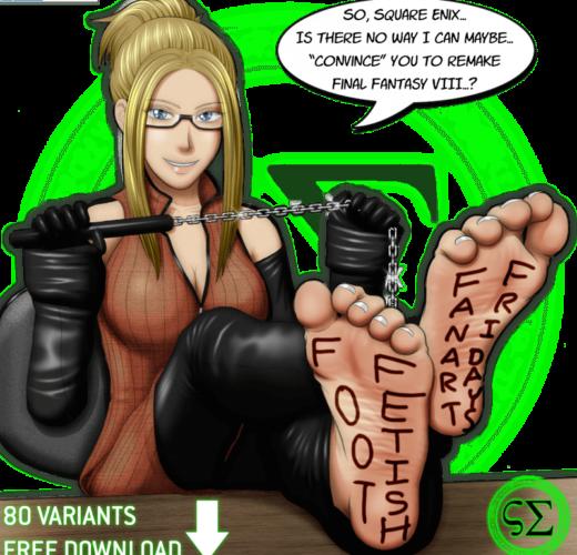 Quistis Foot Tease ~ Final Fantasy VIII ~ By ScreampunkArts