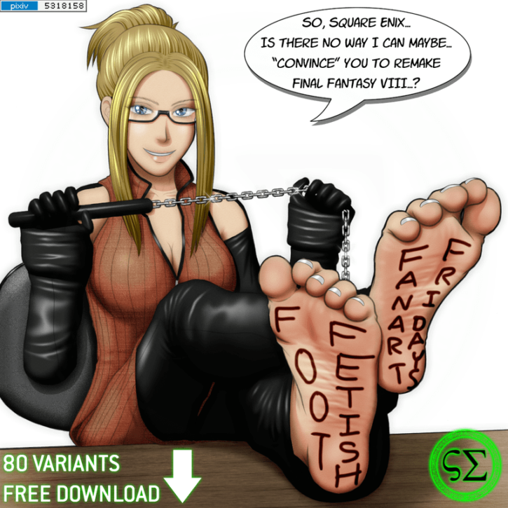 Quistis Foot Tease ~ Final Fantasy VIII ~ By ScreampunkArts