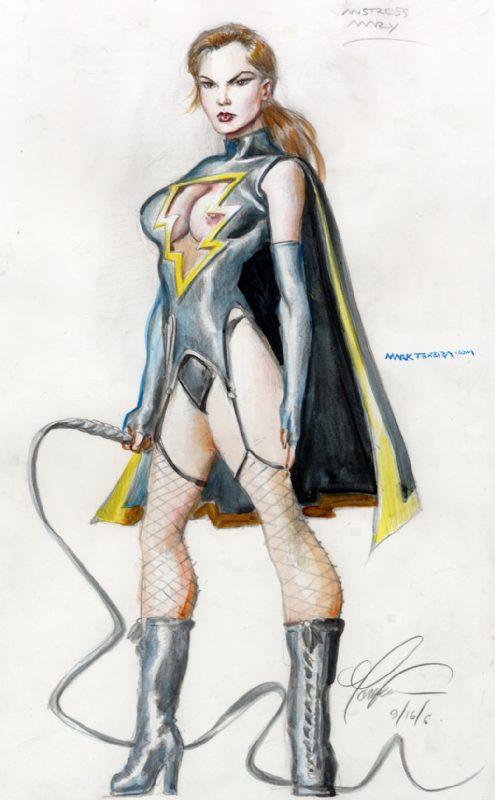 Dominatrix Mary Marvel ~ DC Comics ~ by Mark Texiera