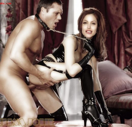 Dominatrix Angelina Jolie ~ Celebrity