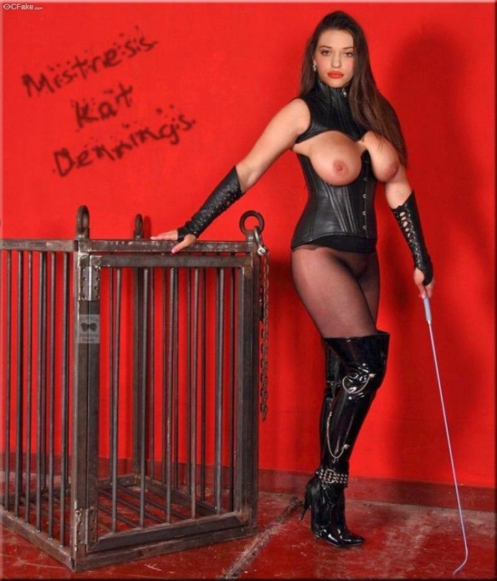 Dominatrix Kat Dennings ~ Celebrity Gallery