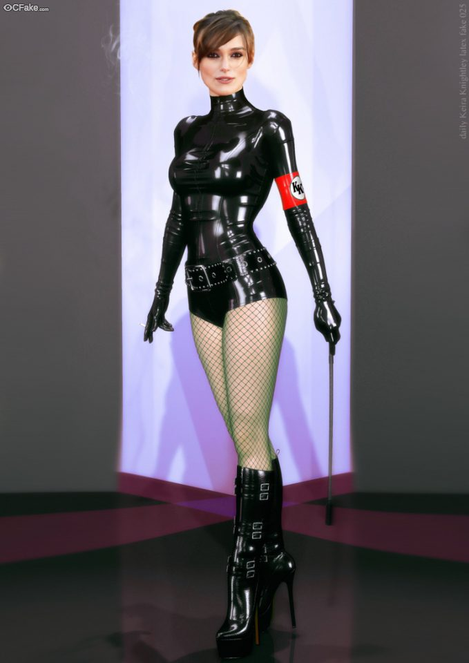 Latex Dom Keira Knightley ~ Celebrity