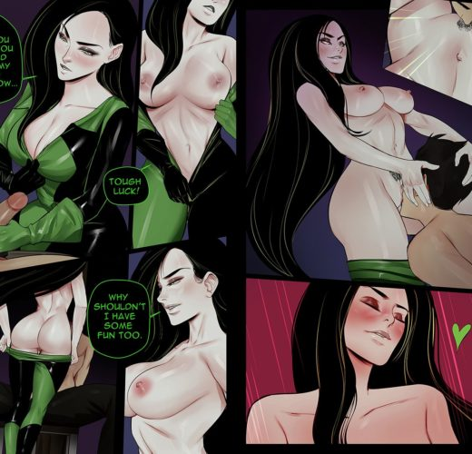 Shego Pussy Worship ~ Kim Possible ~ By Cherry-Gig