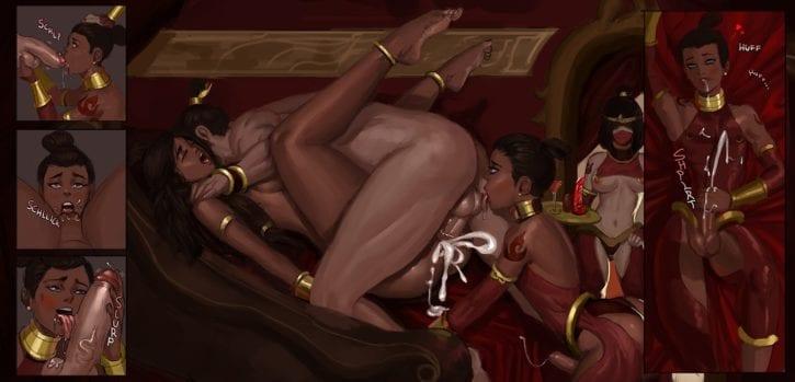 Sissy Sokka ~ Avatar: The Last Airbender ~ By Rhydwyn