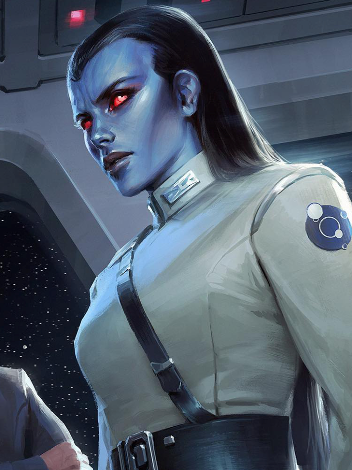 Admiral Ar'alani is a Style Icon ~ Star Wars