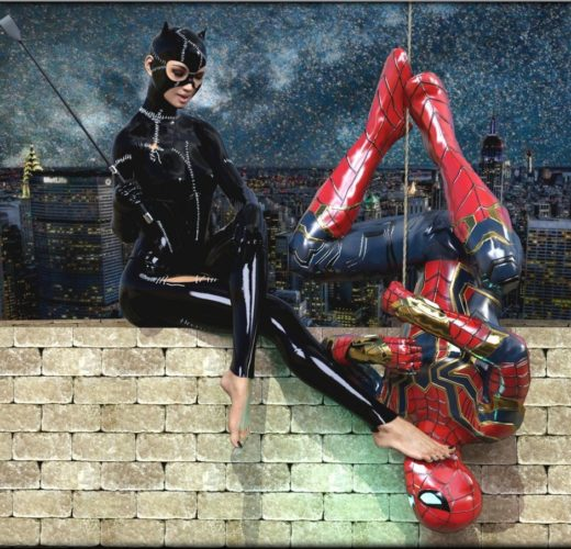 Catwoman Foot Tease ~ DC/Marvel Comics ~ By Kirgen71