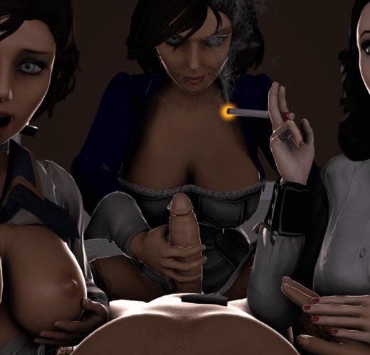 Elizabeth Cock Tease ~ Bioshock Infinite ~ By Dezzii20