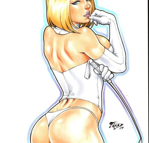 Mistress Emma Frost ~ Marvel Comics ~ By Fred Benes