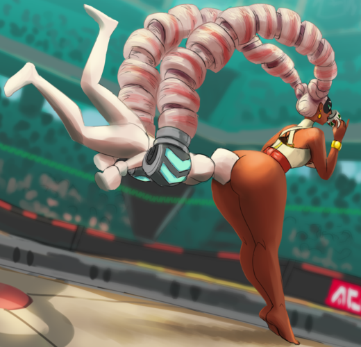 Twintelle Ass Worship ~ ARMS ~ By Necrolepsy