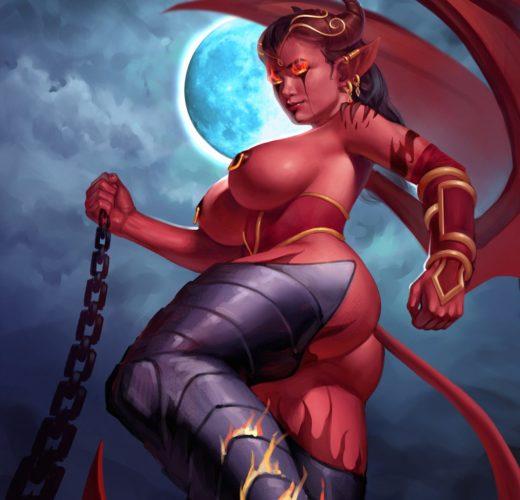 Succubus ~ World of Warcraft ~ By Mavezar