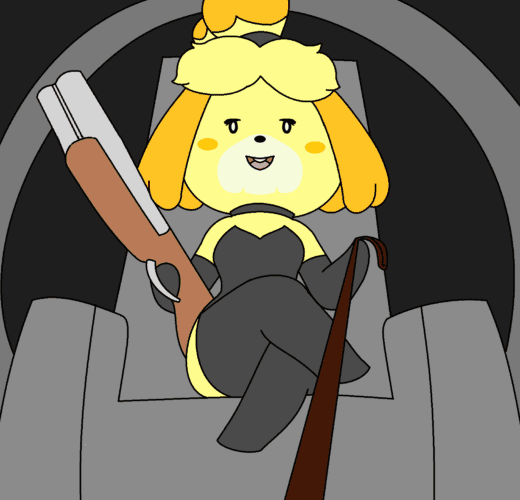 Dominatrix Isabelle ~ Animal Crossing ~ By CyuteButt