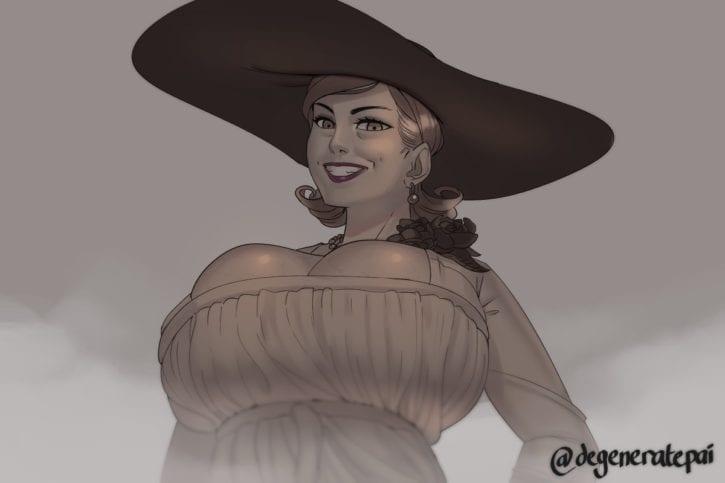 Olga-Resident-Evil-8-Village-Rule-34-Fan-Art-Gallery-5
